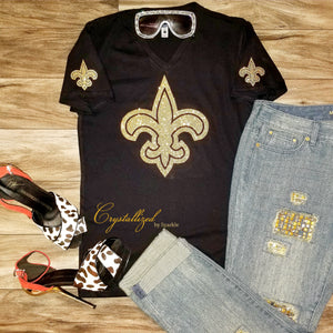 New Orleans Saints Fleur de Lis Graphic Tee