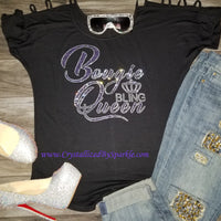 Bougie Bling Queen Bougie Tee