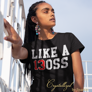 Like a BOSS Delta Sigma Theta Inspired Graphic Tee PLEASE READ DESCRIPTION