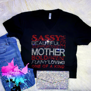 Mother Crystallized Tee
