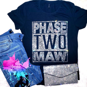 Phase Two Maw Crystallized Tee