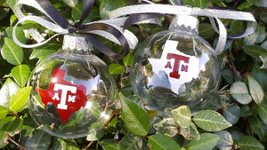Texas A&M Christmas Ornaments, Aggie Christmas