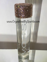 Crystallized Voss Water Bottle Adorned with Swarovski® Crystals (800 mL)