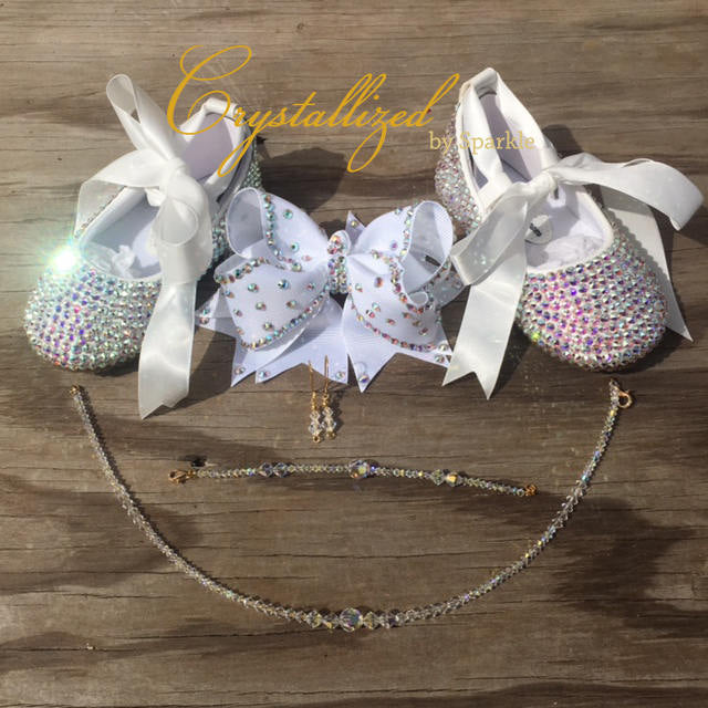 Baby Beauty Box Adorned with Swarovski® Crystals