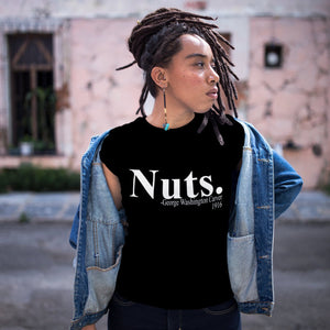 Nuts. George Washington Carver Black History Graphic Tee