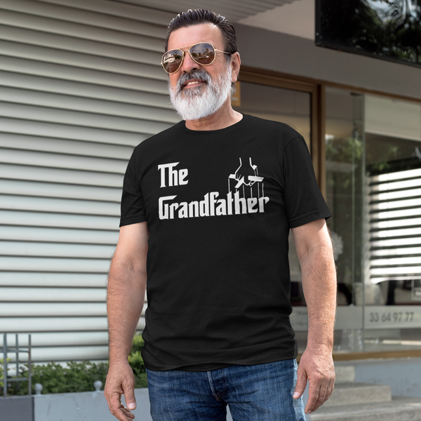 Father's Day The Grandfather Godfather Inspired Graphic Print T-Shirt