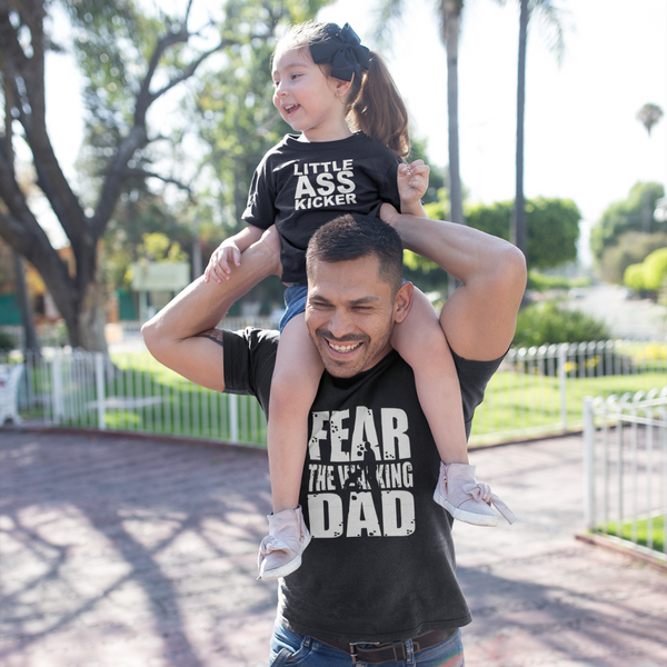 bb9d97537 Father's Day Fear The Walking Dad Fear The Walking Dead Inspired Graphic  Print T-Shirt