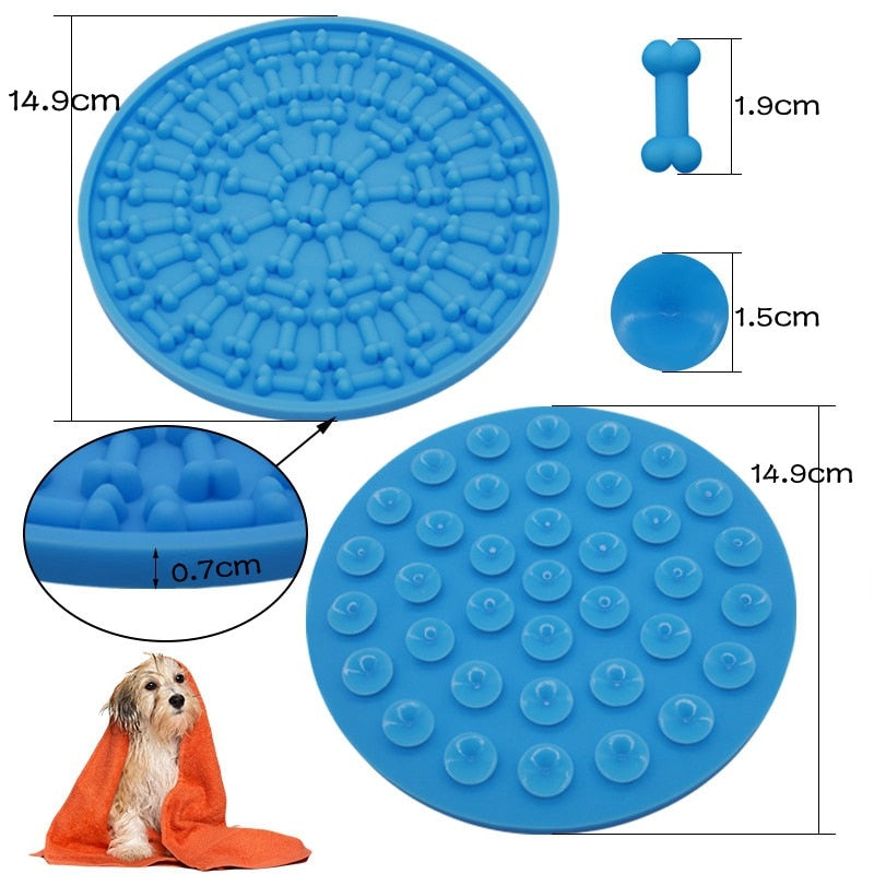 Dog Feeding Mat Bath Distraction