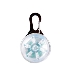 Dog Led glowing pendant necklace Safety Collar