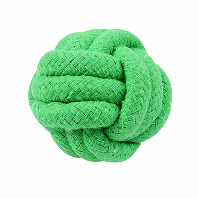 New Dog Toy Pets Rope Ball