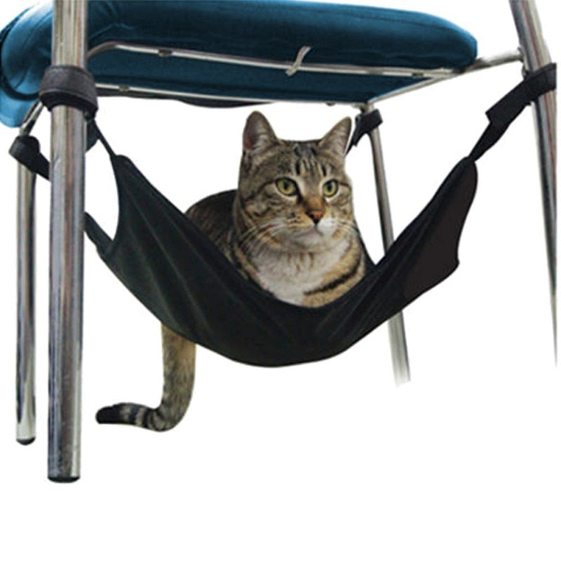 Cat Durable Hammock Under Chair