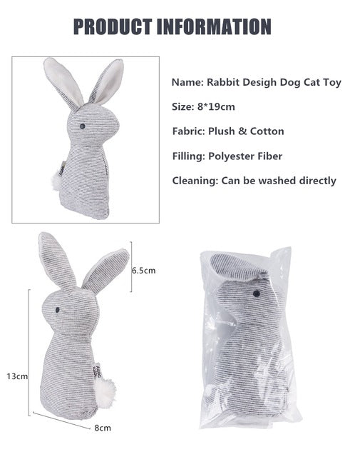 Sound Rabbit Toy Dog