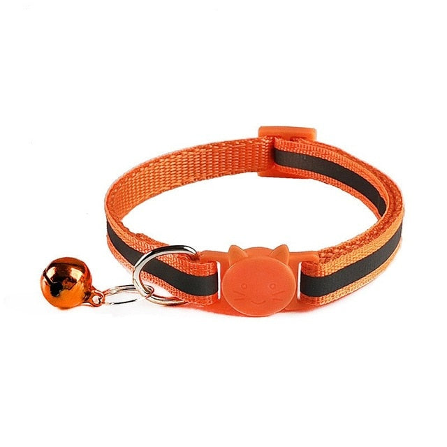 Cat Buckle Nylon with Bell