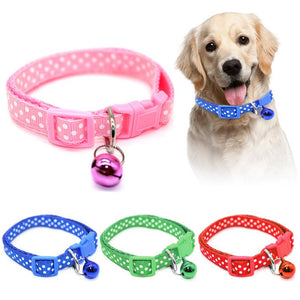 Easy Wear Cat Collar With Bell
