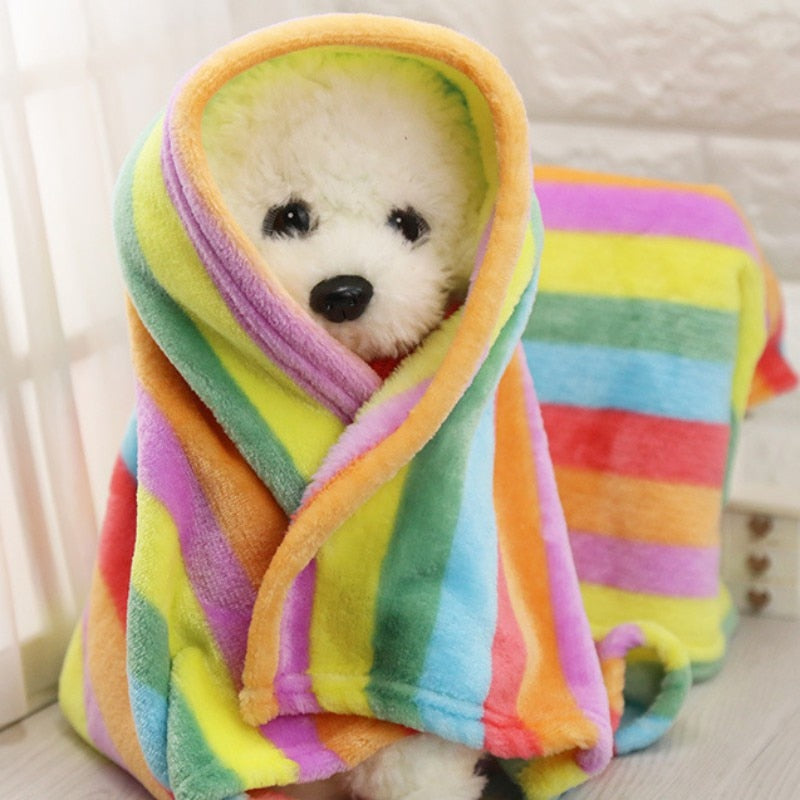 Pet Soft Pet Blanket Winter Dog