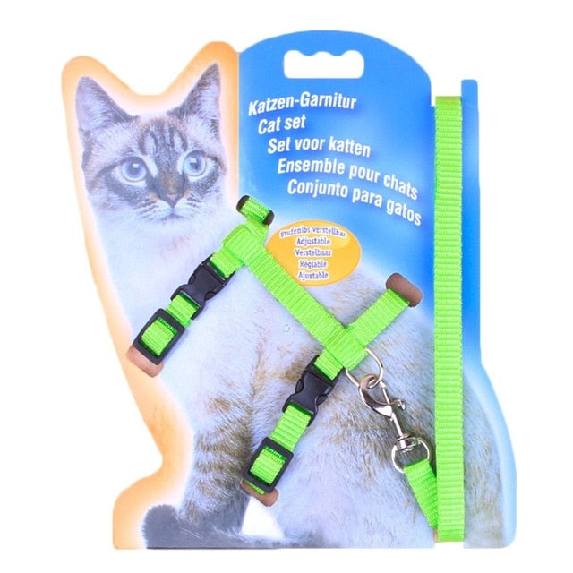 Cat Chest  I-shaped Strap