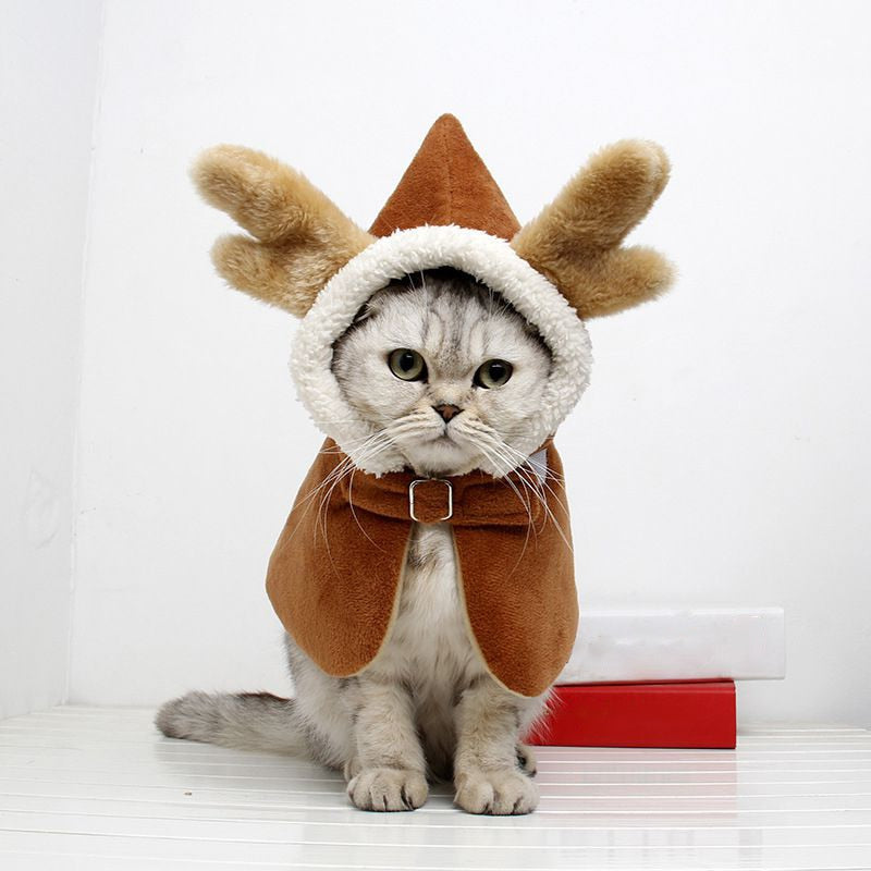 Chinese Style Cat Cloak