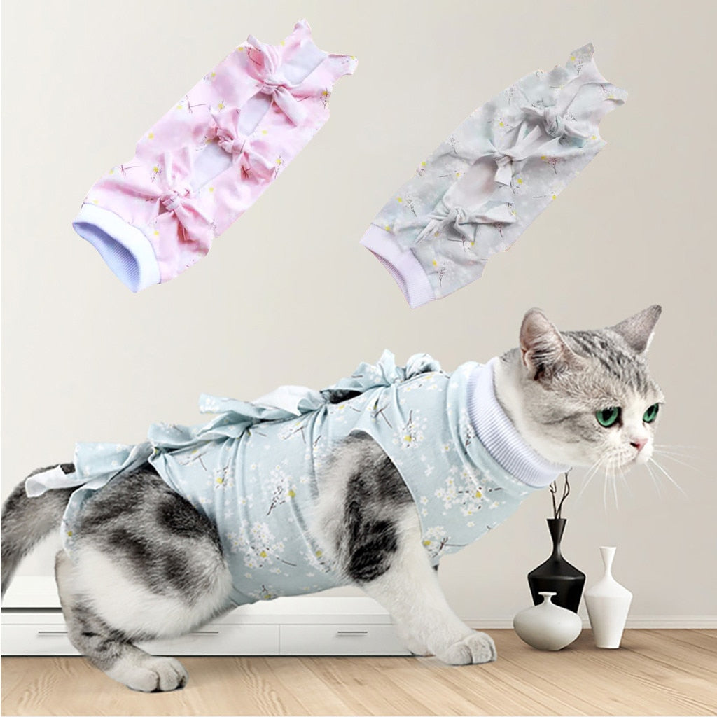New Soft Cat Surgery Clothes