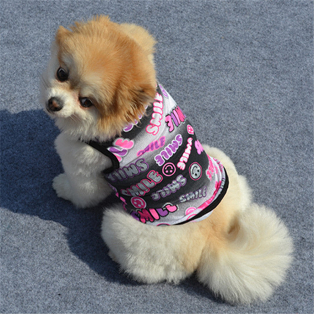Cute Summer Pet Puppy Small Dog Clothes