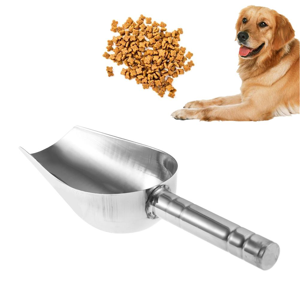 Dog Food Scoop Spoon Stainless