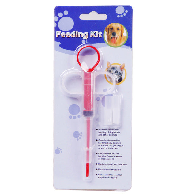 Puppy Pills Dispenser Feeding Kit