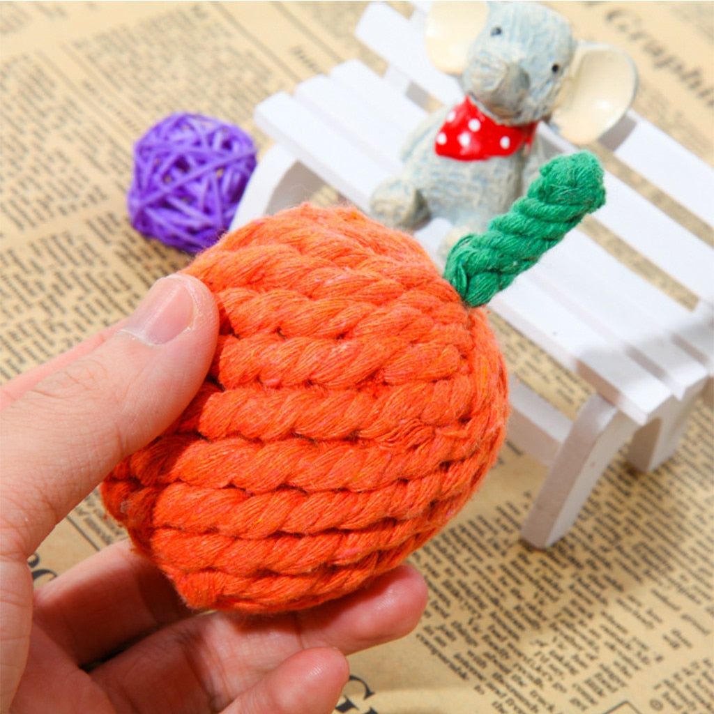 Orange Fruit Seriesmolar Pet Toy