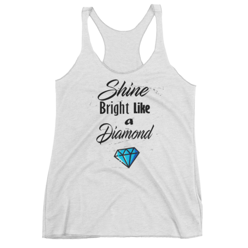 Camisole - Shine bright like a diamond - Pinked