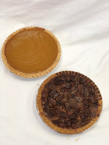 Holiday Pies: Pumpkin and Pecan