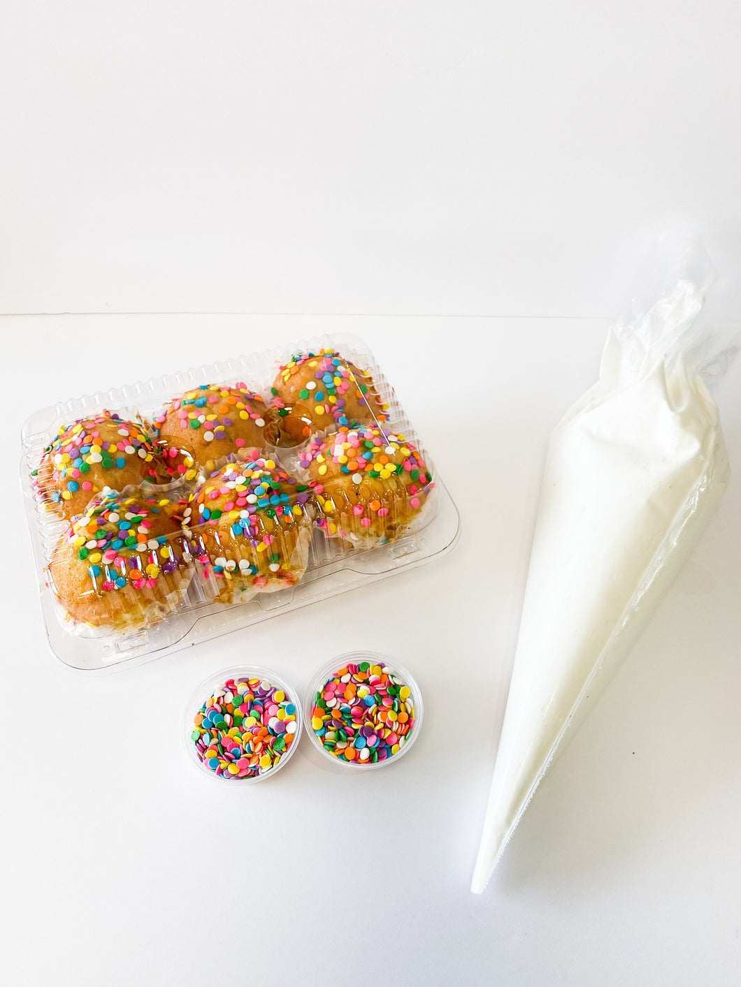 Birthday Funfetti DIY 12 Cupcake Kit