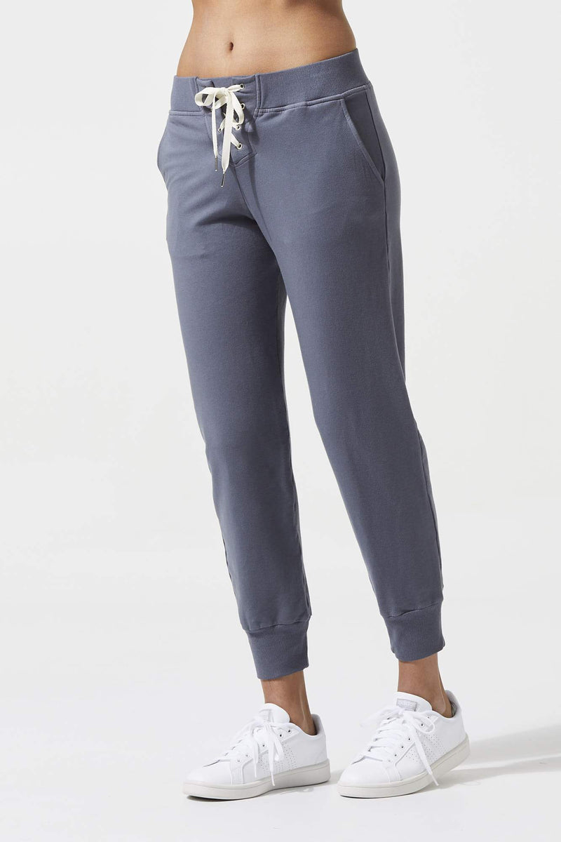 Lace up Sweats with Cuffs