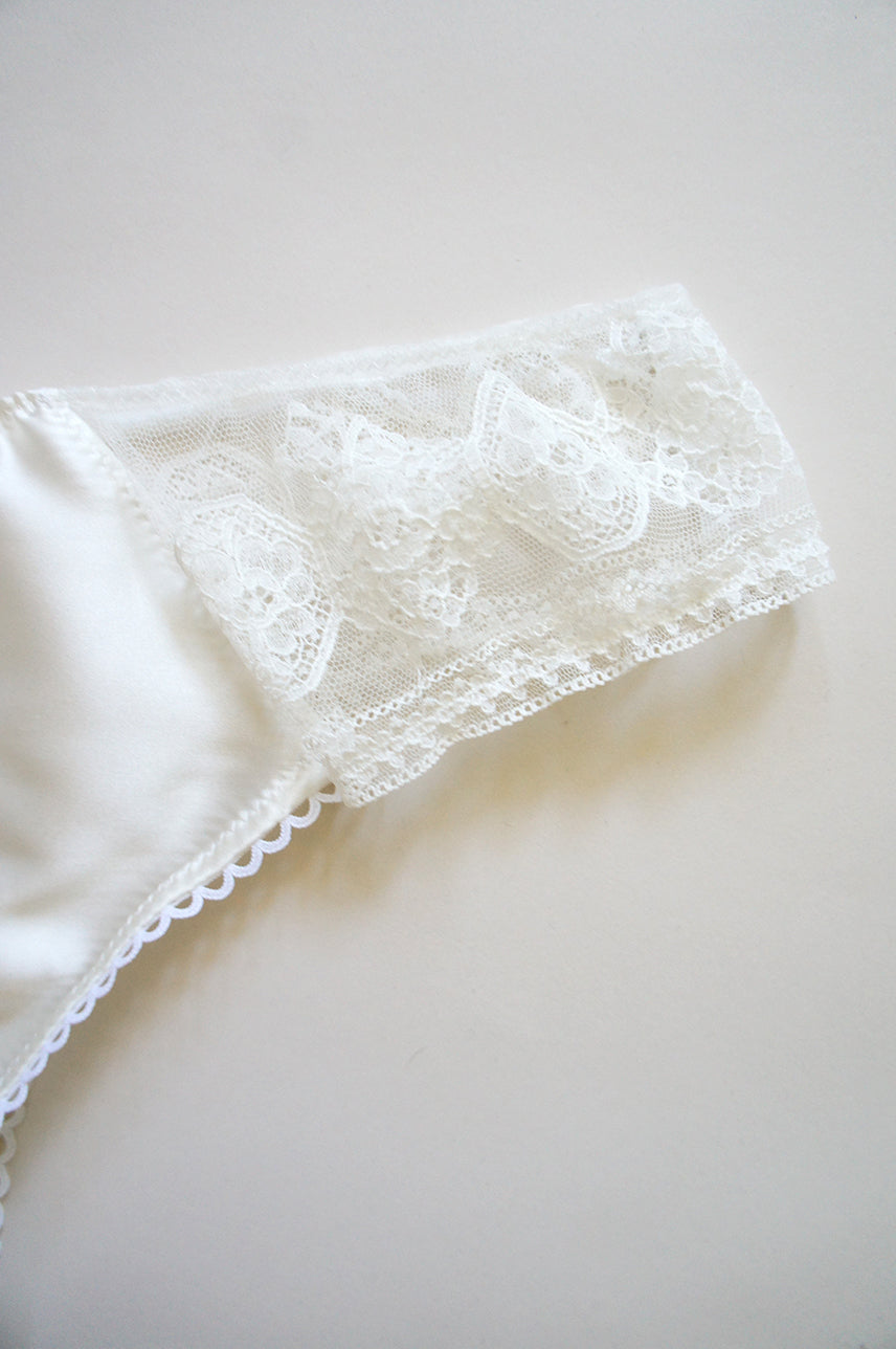 Camille Silk and Lace Panty