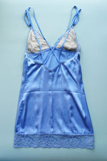 Size XXS/S Periwinkle Strappy Back Chemise
