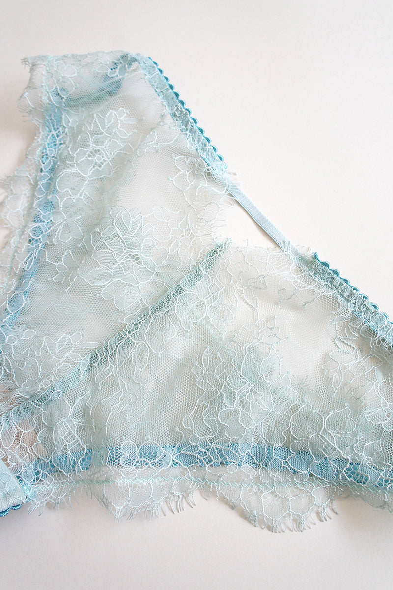 Diana Lace Panty Purist Blue
