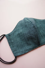 Chambray Fabric Face Mask