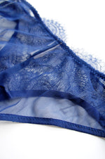 Tilly Lace Mid Brief Navy