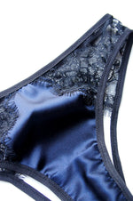 Ouvert Panty Navy and Black