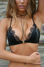 Sophie Silk and Lace Bralette