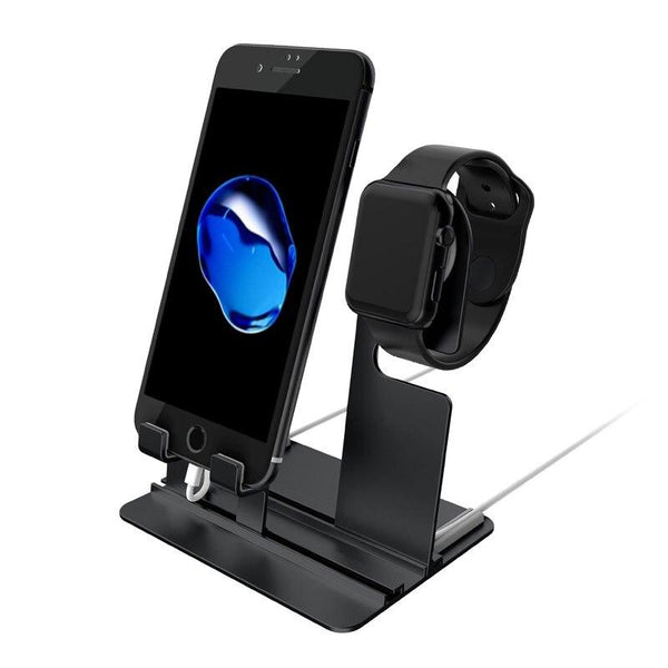 Charger Holder Dock Station For All Apple Watch And IPhone Sizes