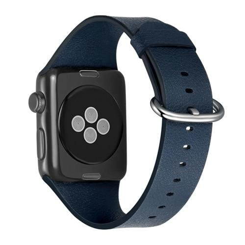 Genuine Premium Leather Strap For All Apple Watch Series - Multiple Colors