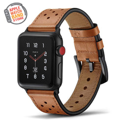 Leather Bracelet Strap For All Apple Watch Series