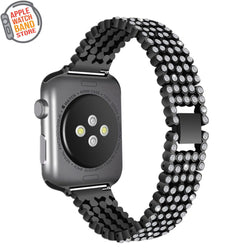 Luxury Diamond Strap For All Apple Watch Series (38mm / 40mm And 42mm / 44mm)- Multiple Colors