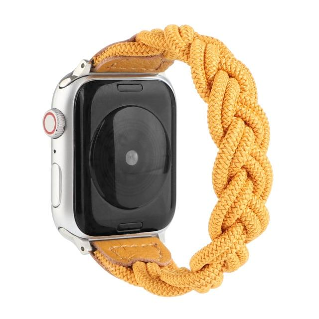 New Nylon Braided Solo Loop Strap For All Apple Watch Series