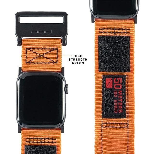 Nylon Sport Watch Band For All Apple Watch Bands (38mm / 40mm And 42mm / 44mm)- Multiple Colors