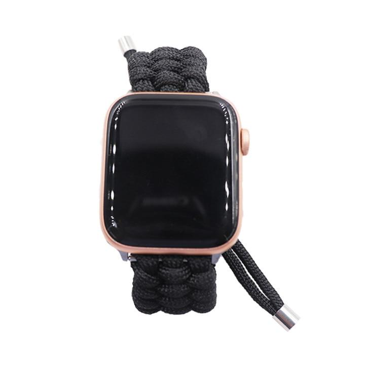 Outdoors Survival Rope Strap For All Apple Watch Sizes - Multiple Colors