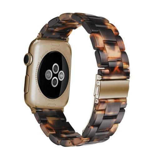 Resin Strap For All Apple Watch Series (38mm / 40mm And 42mm / 44mm)- Multiple Colors