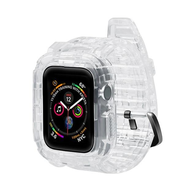 Silicone Apple Watch Band For Apple Watch Series (38mm / 40mm Ad 42mm / 44mm)- Multiple Colors