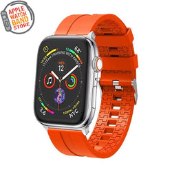 Silicone Strap For All Apple Series (38mm / 40mm And 42mm / 44mm)- Multiple Colors