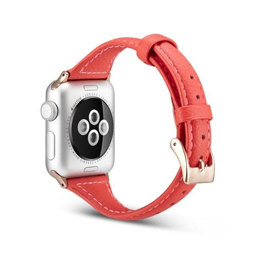 Slim Sport Leather Strap For All Apple Watch Series