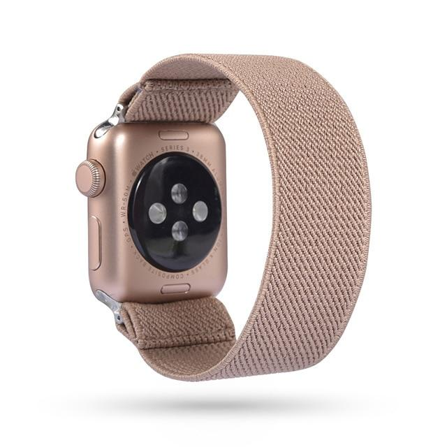 Solo Elastic Nylon Loop Watchband For All Apple Watch Series