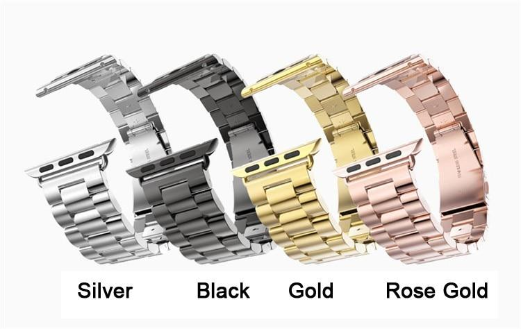 Stainless Steel Watch Band Bracelet For All Apple Watch Series